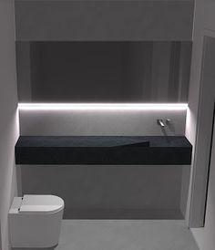Resultado de imagem para lavabo minimalista