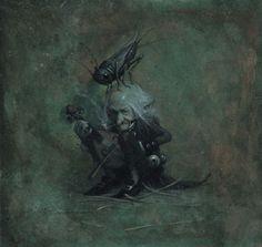Книжные герои, нарисованные от всей души художником Jean-Baptiste Monge (79 фото - 2.71Mb)