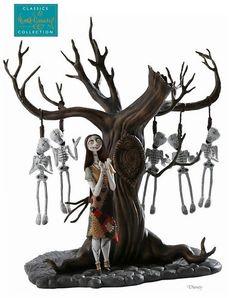 Sally hanging #skeleton tree gift item
