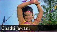Chadti Jawani - Jeetendra - Aruna Irani - Asha Parekh - Caravan - Lata -...