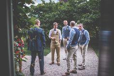 Ballyvolane House Wedding | East County Cork in Southern Ireland | groom style waistcoats and bowties