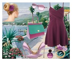 Shades of lilac by christina-geo on Polyvore featuring Miss Selfridge, Dolce&Gabbana, Ralph Lauren, Forever 21, women's clothing, women's fashion, women, female, woman and misses
