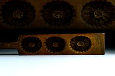 Kashigata Sweets Mold - Hand Carved - Antique Japanese - Japanese Mum by JapaVintage on Etsy