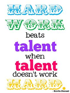 ...and that just about sums up everything... those with talent think they are so good they don't really show up to practice.  They also never find the true meaning of team, it will never have an I in it.