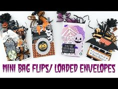 Mini Bag Flips/Loaded Envelopes   Halloween Happy Mail Series – Papercakes By Serena Bee