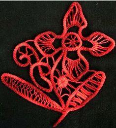 Romanian point lace technique