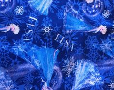Elsa Frozen Fabric By The Yard