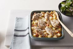 Chicken and Vegetable Bake Easy comfort food uses ingredients you have on hand.