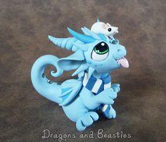 Sculptober: Winter by DragonsAndBeasties.deviantart.com on @deviantART