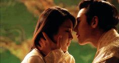 cute ^^ kiss on the head  - Empress Ki