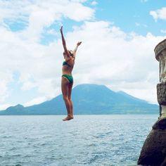 Lake Atitlan, Guatemala #jump #sunnydayswellspent