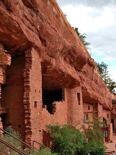 Cliff Dwellings, Archeological Site ~ Mesa Verde, Colorado