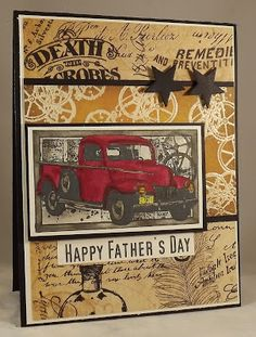Sweet n Sassy Stamps: Happy Fathers Day