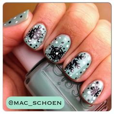 Instagram photo by mac_schoen  #nail #nails #nailart