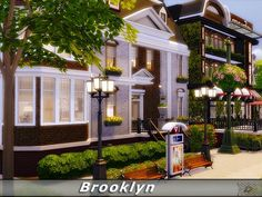 The Sims Resource: Brooklyn house by Danuta720 • Sims 4 Downloads