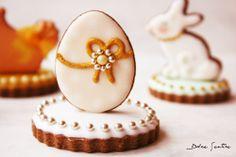 Dolce Sentire {Sweet Art: Galletas y Cupcakes decorados}: Aires de Pascua: Cómo hacer galletas 3D. Nivel I {Foto Tutorial}