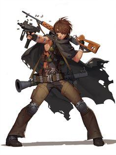 Inséré Game Character Design, Character Design References, Character Concept, Character Art, Concept Art, Fantasy Characters, Anime Characters, Anime Ninja, Anime Weapons