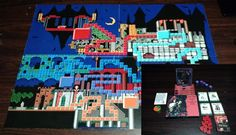 The Best 3D Castlevania Is This Custom-Made Board Game