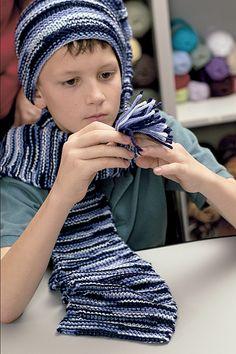 Knook scarf pattern