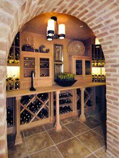The Tides-2006 Wine Cellar    Wine Cellar Cove : Pro Galleries : HGTV Remodels