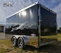 2012 Aluminum GTS Trailer (ATCSS7516TA2) by ATC Trailers, via Flickr