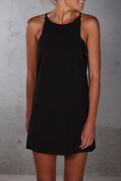 Hallie May Dress Black $59