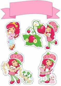 Uau! Veja o que temos para Topo de Bolo de Papel para Imprimir Moranguinho 3 Strawberry Shortcake Toys, Strawberry Shortcake Coloring Pages, Ballerina Cakes, Ballerina Birthday, Imprimibles Baby Shower, Barbie Party, Birthday Images, Printable Stickers, Printable Party