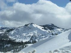 Truckee, CA. Love this view!