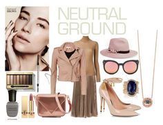 """Cool Neutrals"" by cristinacri7 ❤ liked on Polyvore featuring Valentino, Spektre, Eugenia Kim, Joseph, IRO, Tom Ford, Shashi, Jacquie Aiche, Alexander Wang and Max Factor"