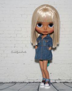 Pretty Dolls, Beautiful Dolls, Baby Cartoon, Custom Dolls, Big Eyes, Blythe Dolls, Fashion Art, Besties, Baby Dolls