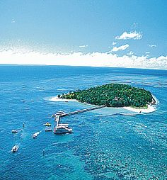 Green Island located off the coast of Cairns, Australia...beautiful place to spend a day and relax.