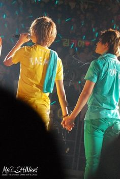 Taemin and Onew