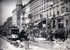 1898 . Westward on 42nd Street between 5th and 6th Avenues (Old Images of New York Group)