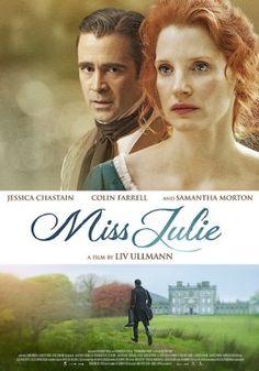 Trailer de Mademoiselle Julie de Liv Ullman avec Jessica Chastain
