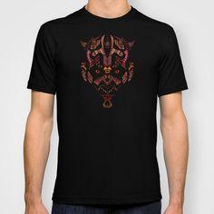 Halloween Aztec Devil pencils sketch T-shirt @society6  #tshirt #tee #clothing #starwars #aztec #darthvader #starlord #bobaffet #Jedi