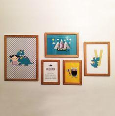 Gallery Wall, Frame, Home Decor, Bedroom Frames, Child Room, Picture Frame, Decoration Home, Room Decor, Frames