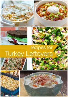 Turkey Leftovers Recipes - Reasons To Skip The Housework