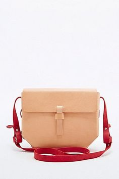 Shop Kate Sheridan Hex Bag in Nude and Red at Urban Outfitters today. We carry all the latest styles, colours and brands for you to choose from right here. Urban Outfitters, Backpack Purse, Leather Handbags, Purses And Bags, Latest Fashion, Shoulder Strap, Satchel, Nude, Hand Painted