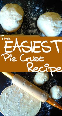 Looking for an easy pie crust recipe? This recipe is for a very flaky pie crust. It is a vegetarian friendly recipe with no eggs. Made in 30 minutes or less.