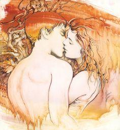 """The Kiss""  by Anna Miarczynska"
