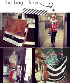 stripes and dorks and loving people, better life bags