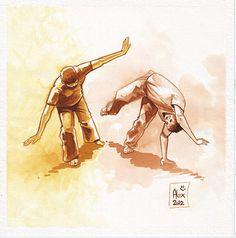 Joga #Capoeira