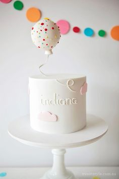 Indi's Sprinkles and Confetti 4th Birthday Party http://www.sweetstyleblog.com.au