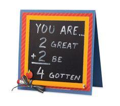 «You are…» (Vous êtes…) Carte de remerciement pour un professeur