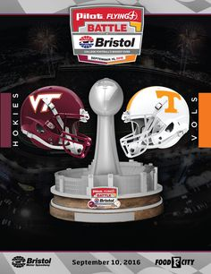 The Pilot Flying J Battle at Bristol, @UTSports and Virginia Tech on September 10, 2016 will shatter the previous NCAA record for attendance at a single college football game. #GoVols #HokieNation