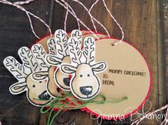 Fancy Friday Sept 16 Stampin' Up! Cookie Cutter Christmas Tags Jeanna Bohanon 3