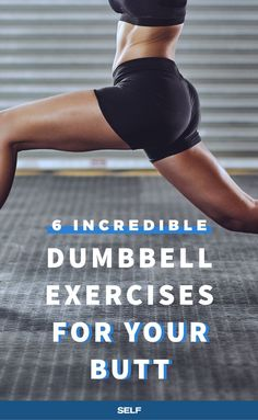 What's the one piece of equipment that's guaranteed to be at every gym in every city? Dumbbells. Sure the weights are basic, and expected, but training with them is incredibly effective. That's why it's important to have a few go-to dumbbell butt exercises in your repertoire—it'll help keep your regular fitness routine feeling fresh and amps up the challenge of classic bodyweight exercises.