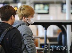 #170202 JJ at BNE airport Brisbane heading back to Korea