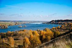 Родные места Есенина - село Константиново, Рязанская область