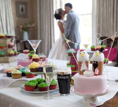 Every consider an Easter themed wedding? Why not!? So many colors and the use of birds :)